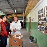 """López presenció el """"Expresarte"""" e interactuó con los jóvenes talleristas"""