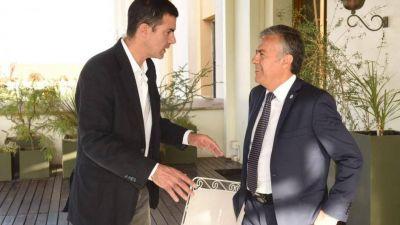 Cornejo recibió a Urtubey y lo quiere sumar a un frente opositor si gana Alberto