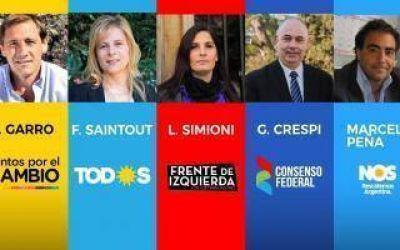Elecciones 2019: (Casi) todo listo para el debate de candidatos de Intendente de La Plata