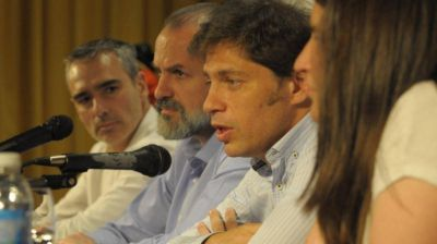 """Por """"la campaña sucia"""", Kicillof cruzó a Macri y a Vidal:"""