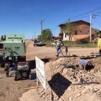 Tronquist: Avanzan las tareas de extensión de la red cloacal