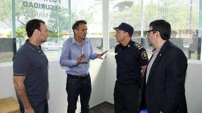 Katopodis inauguró una posta de seguridad en Barrio Sarmiento