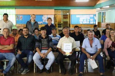 Nueva regularización dominial del IPRODHA en El Soberbio