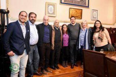 El Centro Islámico de la República Argentina recibió la visita del Jefe de Gobierno porteño