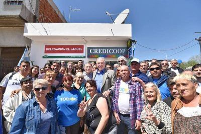 El Credicoop lleva sus cajeros a barrios alejados del centro de Esteban Echeverría