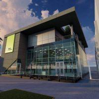 El Banco Provincia avanza en la construcción de la sucursal sustentable