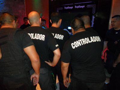 El personal de seguridad en boliches cobrará la suma de 5.000 pesos