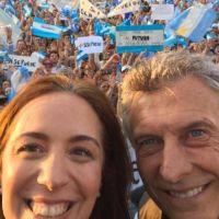 Macri y Vidal encabezan una nueva marcha del