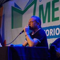 Daniel Arroyo y Darío Sztajnszrajber visitaron la Feria del Libro de Merlo
