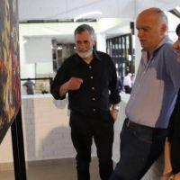 Grindetti reinauguró el renovado hall central del Municipio