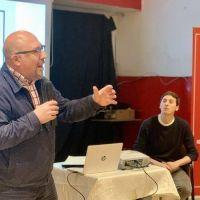 Fabio Quetglas disertó sobre innovación en las ciudades en el Comité de la UCR