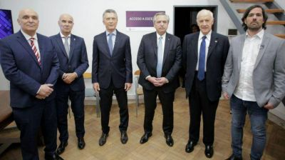 Alberto salió a ganar el debate, Macri a no perderlo