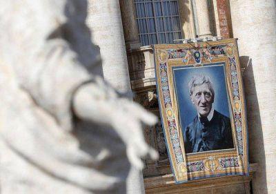 El Papa Francisco canonizó al cardenal John Henry Newman