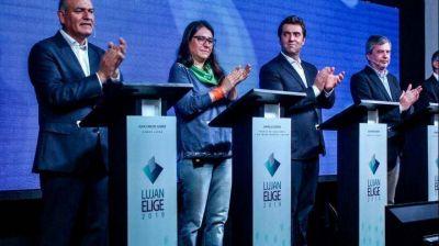 Luján tuvo su debate de candidatos a intendente