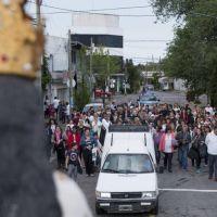 Patronales: Se realizó la procesión y la misa en honor a la Virgen del Pilar