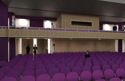 Abella anunció la remodelacion del teatro Pedro Barbero y la creación de una galeria de arte