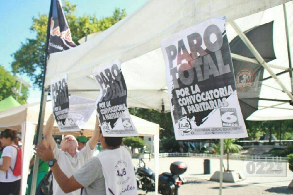 Trabajadores judiciales anunciaron dos jornadas de paro
