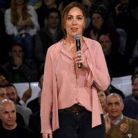 """María Eugenia Vidal: """"Me gustaría que la Iglesia no participara de actos electorales"""""""