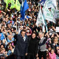 En Junín, Kicillof respaldó a Meoni y acusó a Macri de hacer