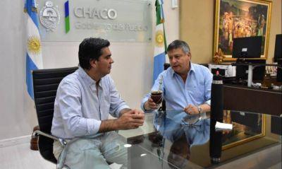 Capitanich y Peppo iniciaron la transición y trabajarán por los Fernández