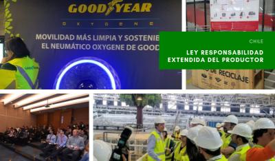 Goodyear, Pepsico y Coca Cola abren sus plantas en Chile para mostrar su gestión del reciclaje