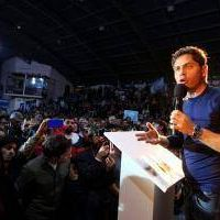 Elecciones 2019: Kicillof en Berisso junto a Mario Secco y Fabián Cagliardi