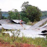 Temporal dañó casas y dejó sin luz a varios municipios