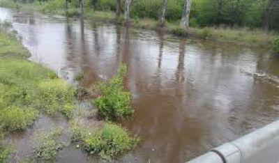 Estado de alerta por una nueva crecida del río Luján