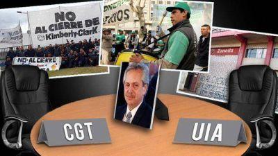 La doble indemnización tensiona el debate en la mesa de diálogo social convocada por Fernández