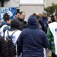 Cristian Echeverría (CTA-Autónioma) encabezó respaldo en la protesta de lucifuercistas