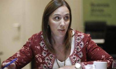 Vidal hará pie en Necochea y será denunciada por docentes, desocupados y jubilados