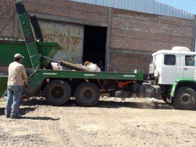 El Municipio de Barranqueras vendió material reciclado de su planta separadora de residuos