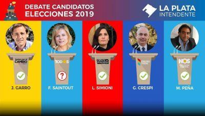 Con Saintout en duda, se realiza un nuevo debate de candidatos a Intendente