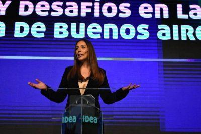 """Vidal pidió el acompañamiento de los empresarios y aseguró: """"El futuro es sin grieta"""""""