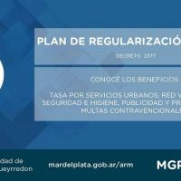 El Municipio extendió el plazo de Regularización Fiscal con un 80% de descuento