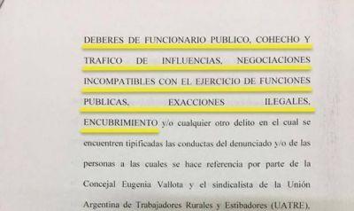 """Se judicializa la campaña electoral en Necochea: el frente """"Todos"""" denunció a Antunez por """"tráfico de influencias"""" y """"encubrimiento"""""""