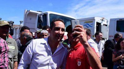 Tagliaferro se peroniza y se sube al 17 de octubre con un bono para municipales
