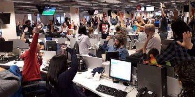 """Trabajadores de Grupo Clarín reclaman que """"el sueldo no alcanza"""" y """"la empresa miente"""""""