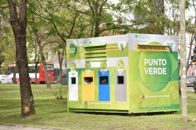 En La Plata suman nuevos puntos fijos de reciclaje para los residuos urbanos