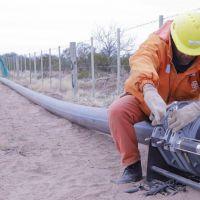 Ya está al 80% la obra que llevará agua potable a 600 personas de Marayes