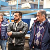 Lanús: Depetri junto a Balladares se comprometieron a reactivar la industria local