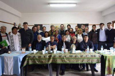 El Obispo de Quilmes recibió a dirigentes de organizaciones sociales y gremiales