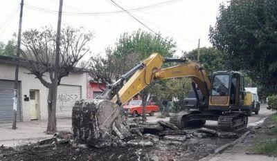 La Comuna intensifica trabajos en Ingeniero Allan