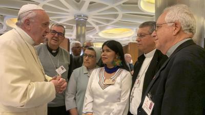 Pueblos originarios piden mayor compromiso de la Iglesia para salvar la Amazonía