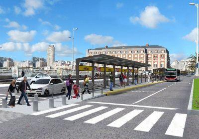 En campaña, Macri prometió reflotar el proyecto de Metrobus para Mar del Plata