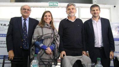 Raverta dialogó sobre educación y trabajo con Filmus y De Mendiguren