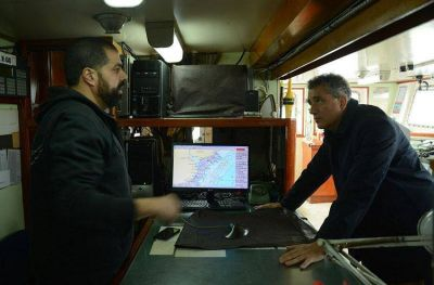 El ministro Etchevehere recorrió Mar del Plata: visitó el Inidep y las plantas frigoríficas