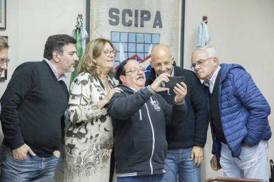 Ducoté presentó sus propuestas a la cámara de comercio de Pilar