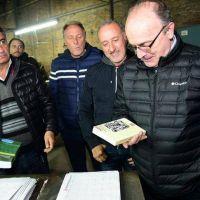 Leopoldo Moreau visitó Lanús y llamó a votar a Depetri