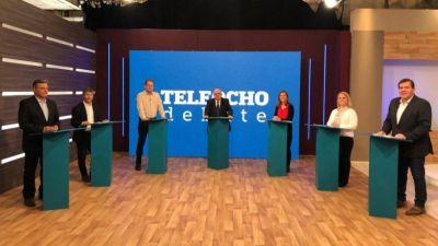 Picante debate de los siete candidatos a intendente